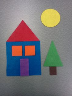 Diy Crafts - This week's story time theme was shapes! Because you could do a million things with this theme and they are toddlers, I stuck to the bas Preschool Learning Activities, Toddler Activities, Preschool Activities, Toddler Art, Toddler Crafts, Crafts For Kids, Diy Crafts, Circle Crafts, Family Theme