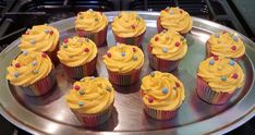 Children In Need Cupcakes, Homemade Cakes, How To Make Cake, Desserts, Food, Homemade Muffins, Postres, Deserts, Hoods