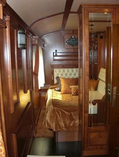Pullman Sleeping Car on the Orient Express