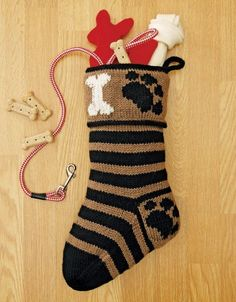 The Stockings Were Knit eBook - These eight festive knit Christmas stocking designs offer styles for everyone in the family, including the pets! The stockings can be displayed with the toe at right or at left, because the cuffs show the same design on both sides. Special finishing touches for some of the stockings include embroidery and duplicate stitch. 8 knit stockings by Mickey Landau for medium weight yarn and Intermediate skill level: For My Best Friend (dog), Purr-fect Pastimes (cat)…