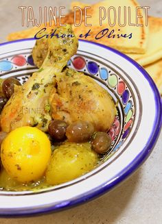 Tajine de poulet citron olives Potato Salad, Meal Prep, The Cure, Yummy Food, Yummy Recipes, Cooking Recipes, Eggs, Chicken, Breakfast