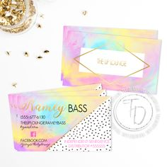 LipSense business card by Trusner Designs on Etsy