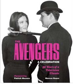 """The Avengers"" ABC-TV, 1966-7  ""Crimes against the people and the state have to be avenged by agents extra-ordinary. Two such people are John Steed, top professional… and his partner, Emma Peel, talented amateur… Otherwise known as — The Avengers."""