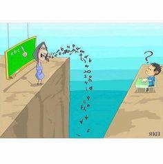 Cуществует огромная пропасть между современной молодежью и устаревшей системой образования.    ||    7 карикатур, которые объясняют суть современной жизни лучше любого политика