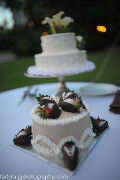 Wedding cakes.   Photo by Tad Craig Photography