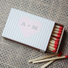 Printable Match Box Wraps Avonlea by printyourparty on Etsy, $15.00