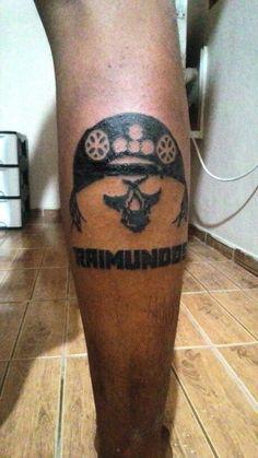 Black art em silhuetas. Primeira tattoo do cliente.