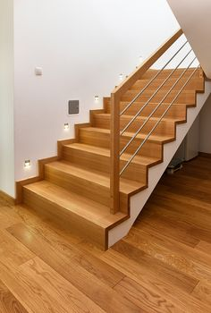 Pin By Gianna Glaesmann On Lasobrina In 2019 Stairs House Stairs Gianna Glaesmann Lasobrina Pin Stairs Modern Stair Railing, Stair Railing Design, Stair Handrail, Staircase Railings, Modern Stairs, Home Stairs Design, Interior Stairs, House Design, Pole Barn House Plans