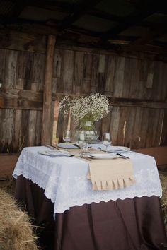 Rustic Barn Wedding Reception Style