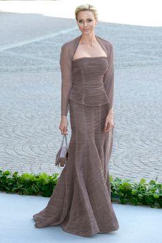 Wedding of Princess Madeleine and Chris O'Neill-The Guests  Princess Charlene of Monaco
