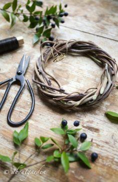 <3 aboutgarden <3 mirtus wreath ok