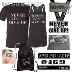 Never Give Up - Running Virtual Race
