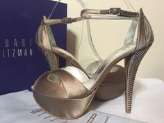 Stuart Weitzman Evening High Heels Peep Toe Sandals Misty Satin Platforms. Get the must-have platforms of this season! These Stuart Weitzman Evening High Heels Peep Toe Sandals Misty Satin Platforms are a top 10 member favorite on Tradesy. Save on yours before they're sold out!