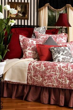 Pin By Yulya Magee On Room Decor | Pinterest | Red Bedding, Ana White And  Pottery