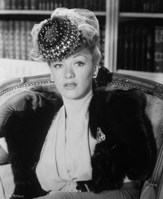 "Eve Arden Quite the comedianne, even later on in ""Grease"" :-)"