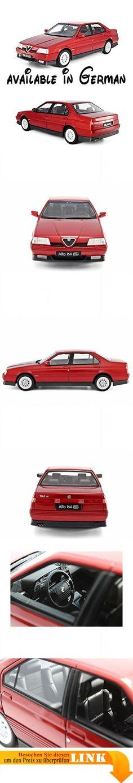 B01N2S64K5 : Alfa Romeo 164 3.0 V6 Q4 1993 rot Modellauto LM095B Laudoracing 1:18. Fertigmodell (keine Montage erforderlich). Material: Resine