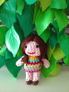Crochet Doll PDF Pattern.