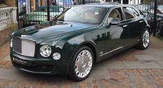 The Queen's Bentley Mulsanne