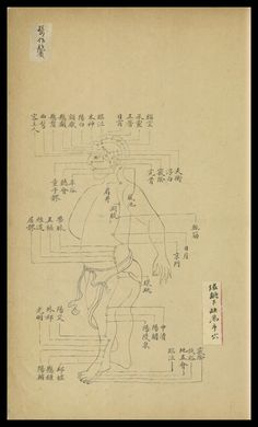 Gallbladder Meridian from 'Songs of Acupuncture'
