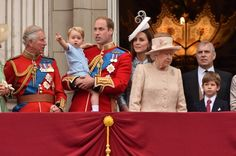 George attends Trooping of the Colour for the First Time -