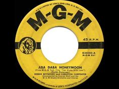 1951 HITS ARCHIVE: Aba Daba Honeymoon - Debbie Reynolds & Carleton Carpe...