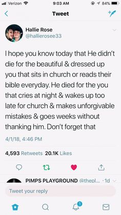 AlThough going to church and reading your bible everyday does make you a stronger Christian. However God still loves us when we mess up and make mistakes. Bible Verses Quotes, Jesus Quotes, Faith Quotes, True Quotes, Scriptures, Positive Bible Verses, Camp Quotes, Vinyl Quotes, Quotes Positive