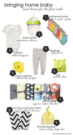 Mom's Best Bringing Home Baby : Must Have Items for the 1st Week Featured: VONBON Organic Cotton Multi-use cloths I Black Chevron I Sept 19, 2013