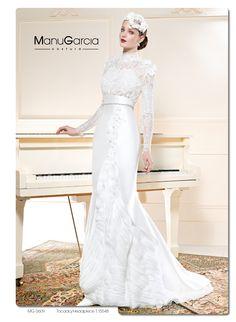 En nuestra colección de novia también encontrarás vestidos de manga larga... #BienvenidoDiciembre