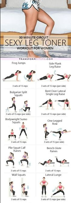Leg toning moves for sexy legs  | Posted By: NewHowToLoseBellyFat.com