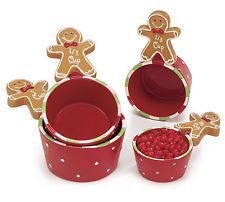 Gingerbread Measuring Cups