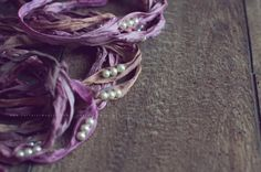 newborn sari silk tieback newborn tie back by CatturaImageryShop
