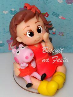 Menina com Peppa Pig