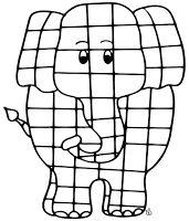 Catch Em Early Elmer The Patchwork Elephant Catchem Early