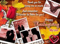 Romantic thanksgiving ecards