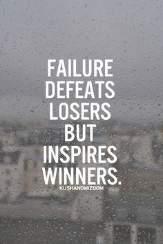 Failures.