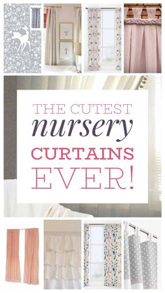 Looking for affordable nursery curtains for a girl or boy? These neutral curtains are easy and affordable!