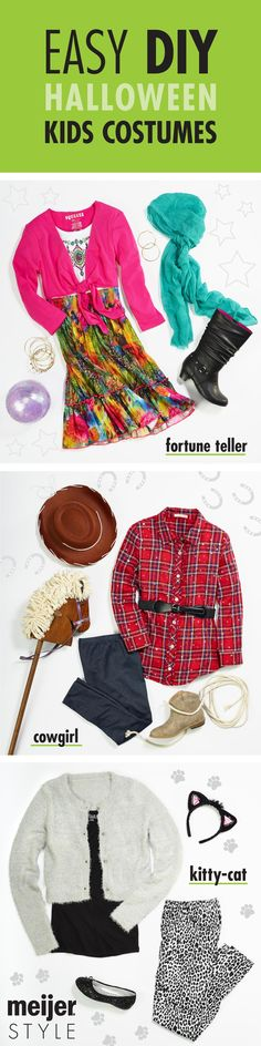 bd1c2cc8c Put together your own kids Halloween costume like a fortune teller