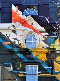 agents of change mural Graffiti Art, Murals Street Art, Mural Wall Art, Mural Painting, Images D'art, Art Public, Amazing Street Art, Environmental Art, Art Design