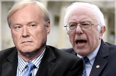 """Chris Matthews' dumb Bernie Sanders disdain: Dopey pundit drools over W's """"mission accomplished,"""" doesn't think vets' advocate can be commander in chief"""