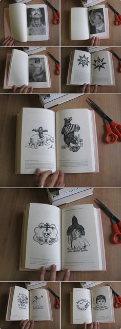 awesome Russian prison tattoo book - super cool!