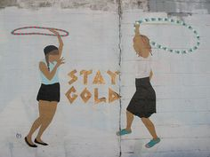 Stay gold. via papertwins #LYD #Sportsgirl