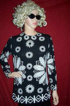 60s Daisy Top by ditchrosevintage on Etsy, $24.00