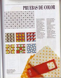 Curso de Patchwork - Cursos y tutoriales para manualidades Book Quilt, Patches, Blog, Album, Quilts, Paper, Crochet, Log Cabins, Magazines