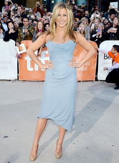 """Jennifer Aniston: """"I would love to drop 5 pounds... I have always been really comfortable at about 110 to 113 pounds. But it is harder at this age."""""""