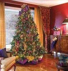 fotos e ideas para decorar el arbol de navidad 2012 2013 9