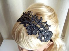 Lace headband $30 - a DIY of this might be really pretty for the bridesmaids