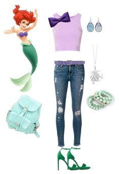 """""""Ariel in high school"""" by cyphertbethany on Polyvore"""