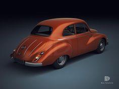A Garagem Digital de Dan Palatnik | The Digital Garage Project: 1950 IFA F9
