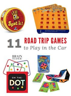 11 fun Road Trip Games to Play in the Car