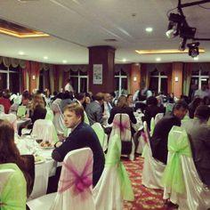 Kocaeli Üniversitesi, konuklarını kongrenin gala yemeğinde Green Park Hotel'de ağarlıyor. Media Studies, Park, Twitter, Parks